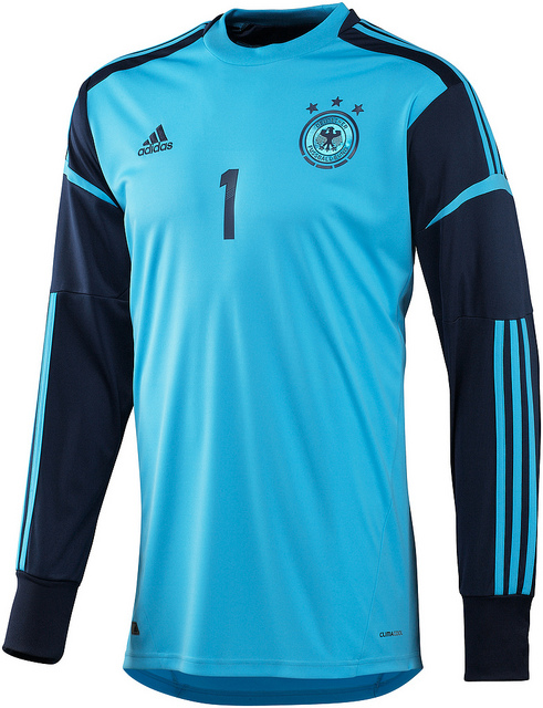 Germany Goalkeeper Jersey Euro 2012
