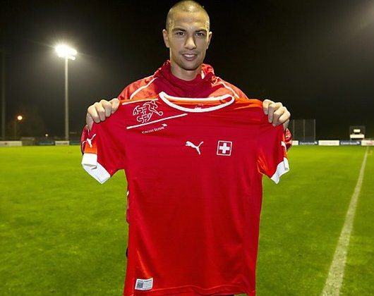 Inler Switzerland Jersey 2012