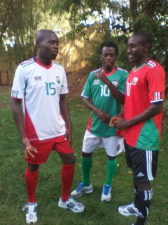 Kenya Football Kit 2012