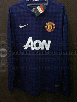 Leaked Manchester United Jersey 2012 2013 Tartan Away
