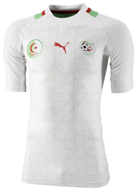 ea019053da8 New Algeria Kit 2012 Puma Home Jersey 2012-2013 | Football Kit News