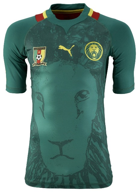 New Cameroon Jersey 2012