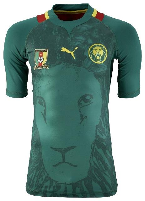 New Cameroon Shirt 2012-2013 Puma Home Jersey | Football