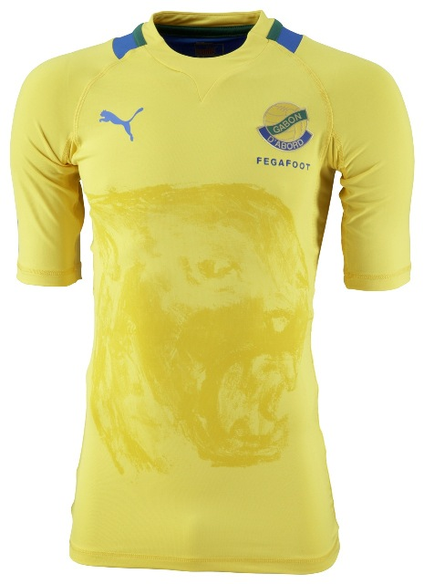 New Gabon Kit 2012 Africa Cup of Nations Jersey