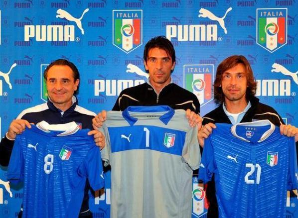 New Italy Kit 2012