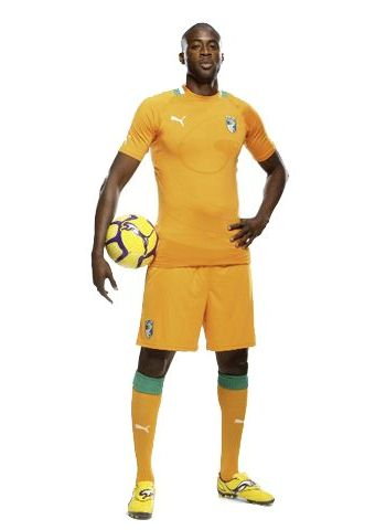 New Ivory Coast Jersey 2012-13 African Cup of Nations Kit Puma ... 5b3310066