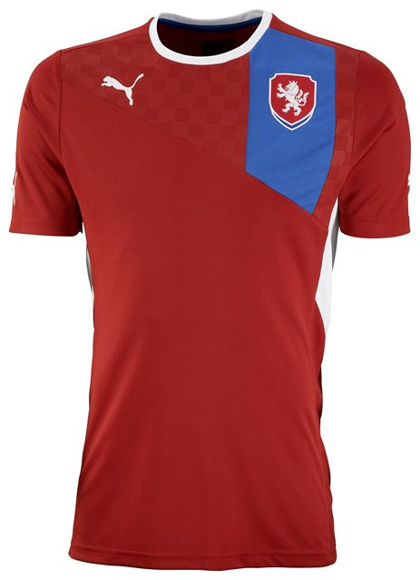 New Puma Czech Republic Kit 2012 Euro