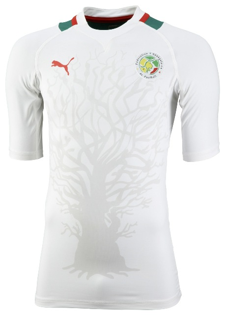 New Senegal Jersey 2012 Africa Cup of Nations