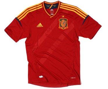Spain New Euro 2012 Shirt