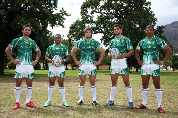 Springbok Sevens Kit South Africa