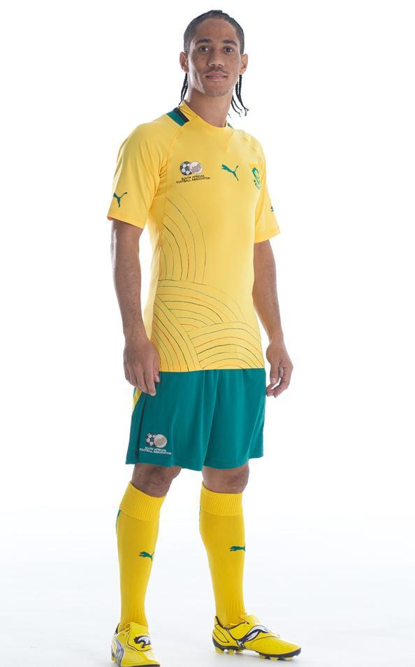 Steven Pienaar New Bafana Jersey 2012 2013