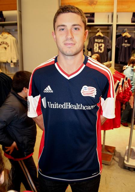 Adidas New England Revolution  Jersey 2012