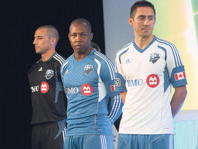 Montreal Impact MLS Jersey 2012