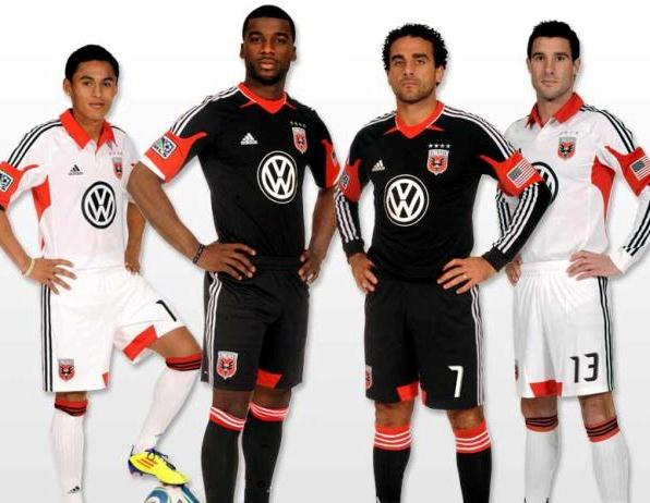 New DC United Jerseys 2012