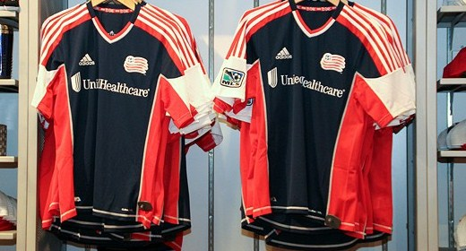 New England Revolution 2012 MLS Jersey