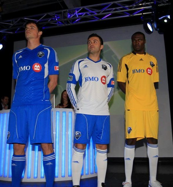 New Montreal Impact Kits 2012