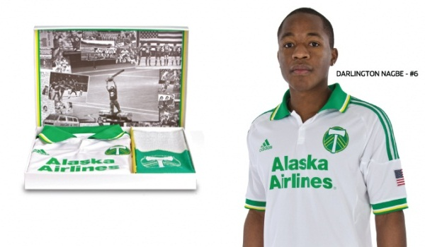New Portland Timbers Jersey 2012