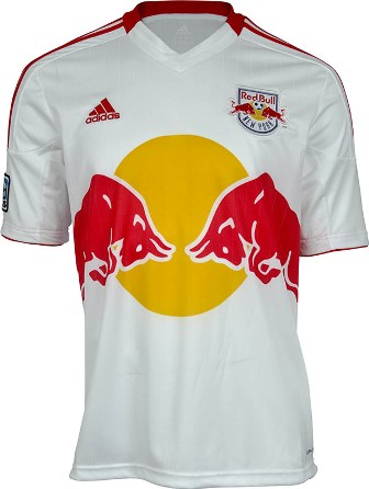 New York Red Bulls 2012 MLS Jersey