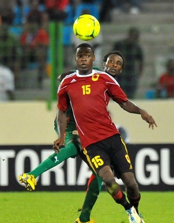 Angola Adidas Jersey 2012