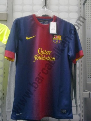 Leaked Barca Jersey 12-13