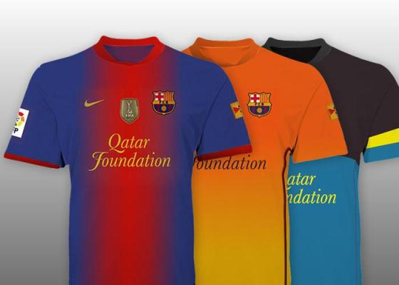 Leaked New Barcelona Jerseys 2012 2013