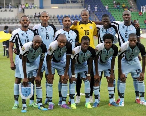 New Botswana Jersey 2012