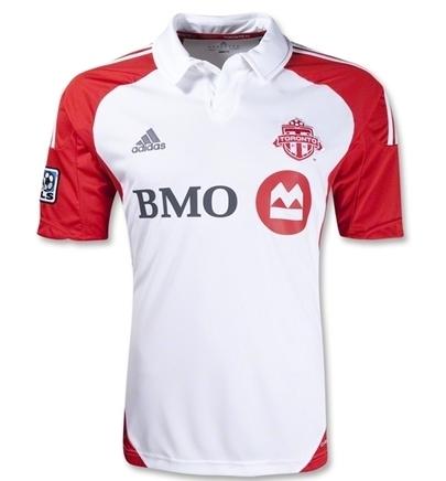 New Toronto FC Soccer Jersey 2012
