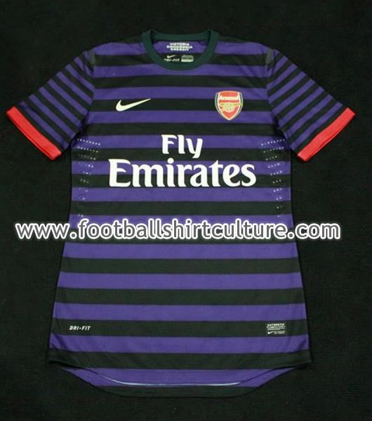 Purple Arsenal Jersey Leaked