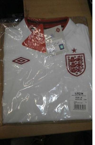 Leaked England Euro 2012 Kit