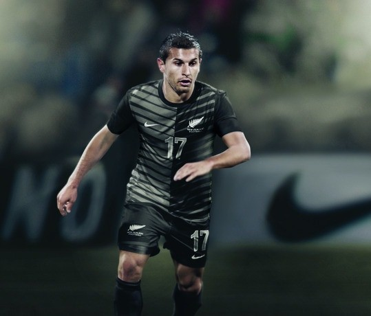 New Zealand All Whites Away Jersey 2012 2013