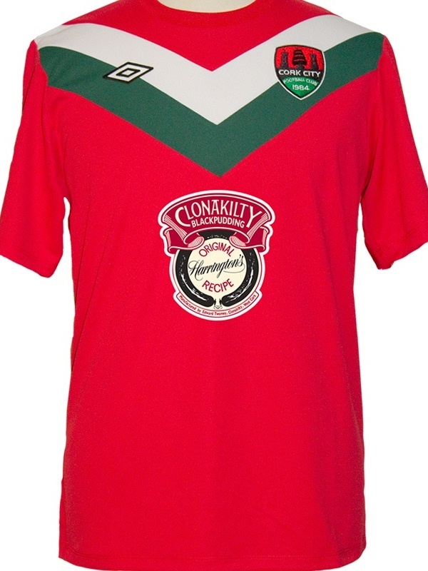Cork City New Away Kit 2012
