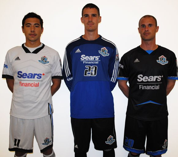 New FC Edmonton Jersey 2012