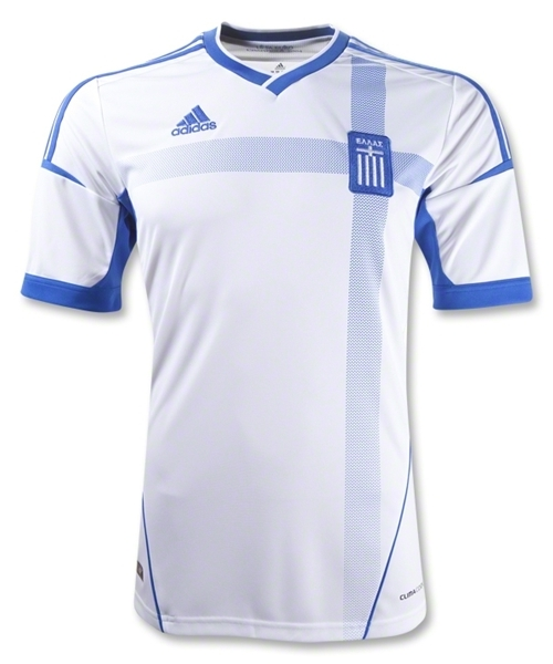 New Greece Soccer Jersey 2012