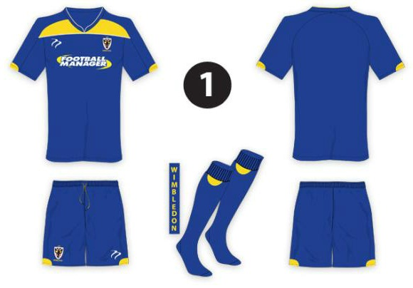 New Wimbledon Kit 2012