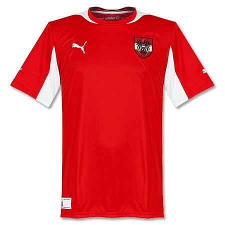 Puma Austria Soccer Jersey 2012