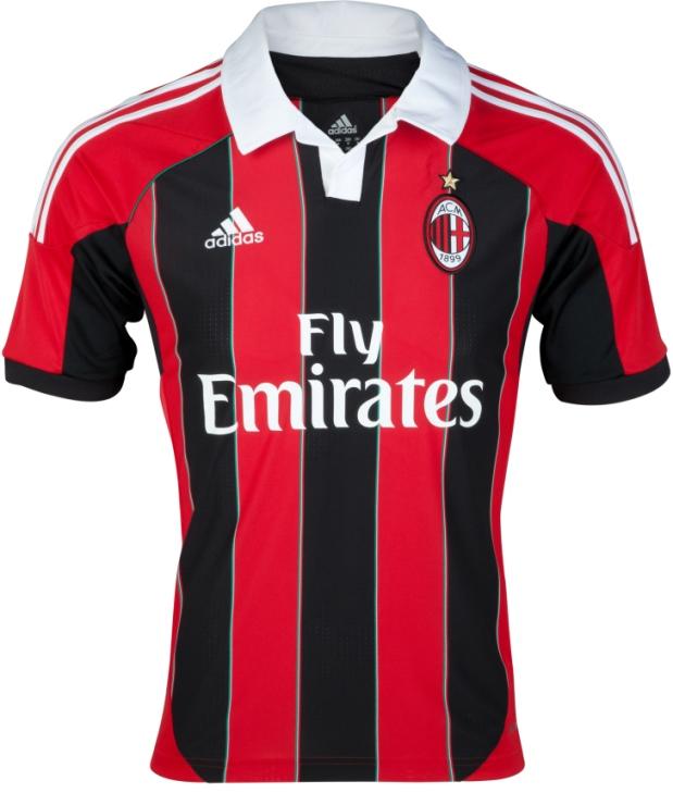 AC Milan Home Strip 2012