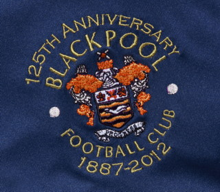 Blackpool Anniversary Shirt Badge 2013
