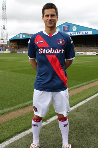 Fila Carlisle United Kit 2012