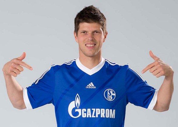 Huntelaar Schalke Jersey 2012