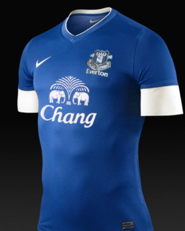 Leaked Nike Everton Jersey 2012 2013