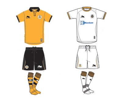 New Burrda Cambridge United Kits 2012-13