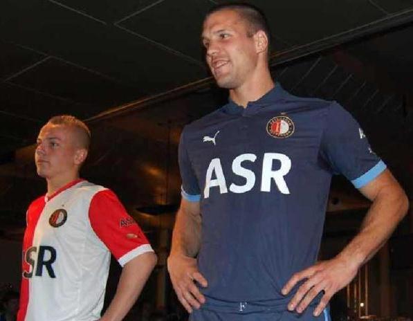New Feyenoord Jersey 2012 2013