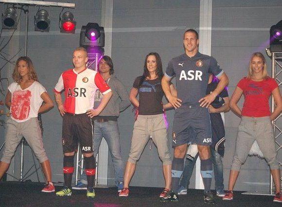 New Feyenoord Kit 12-13 Blue Uitshirt