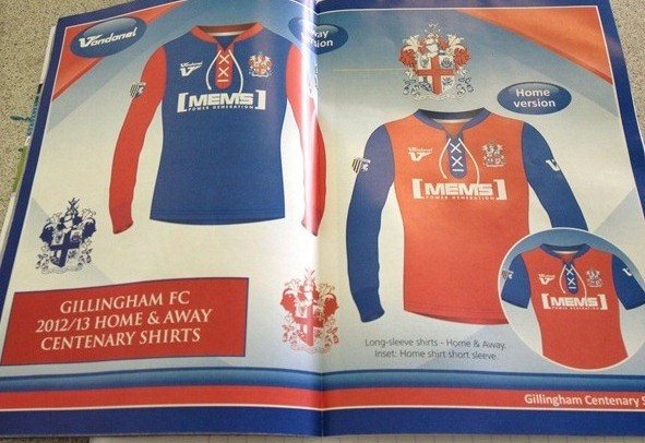 New Gillingham Kit 2012 2013