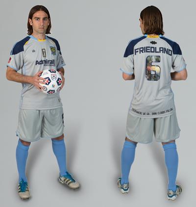 New MN Stars Soccer Jersey