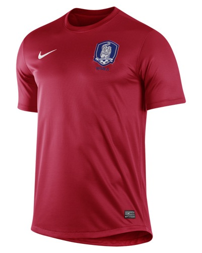 New South Korea Home Kit 2012 2013