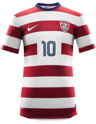 New USA Soccer Jersey 2013