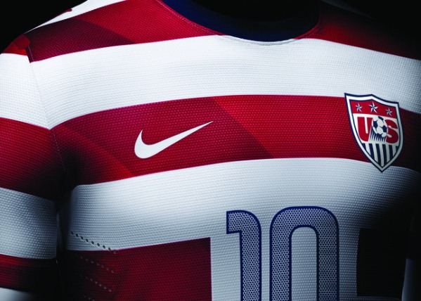 New USA Soccer Kit 2012 2013