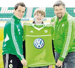 New Wolfsburg Jersey 2012-2013