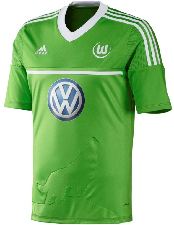 New Wolfsburg Trikot 2013